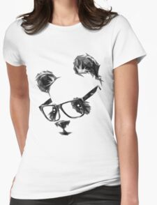 Cool Panda Womens Fitted T-Shirt