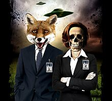 Fox and Skully by JoeConde