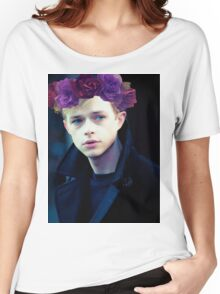 Dane DeHaan and his flower crown Women's Relaxed Fit T-Shirt