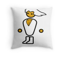 The master race has arrived!  Throw Pillow
