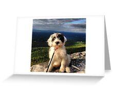 Mountain Pup Greeting Card