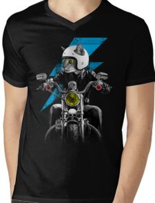Ride The Lightning Mens V-Neck T-Shirt