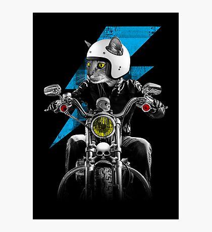 Ride The Lightning Photographic Print