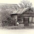 Abandoned shop Hinton NSW by julie anne  grattan
