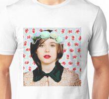 Ellen Page loves florals! Unisex T-Shirt