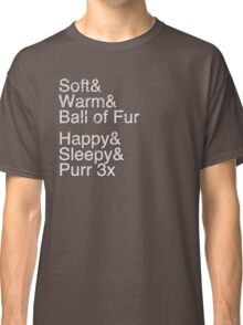 Helvetica: Soft Kitty Classic T-Shirt