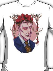 NBC Hannibal - Flower crown - Hannibal T-Shirt