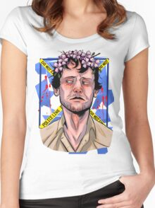 NBC Hannibal - Flower crown - Will Women's Fitted Scoop T-Shirt