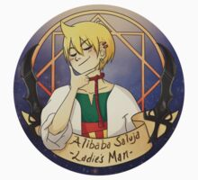 Alibaba Saluja - Ladie's man by ainsil