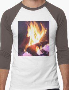 Let it Burn Men's Baseball ¾ T-Shirt