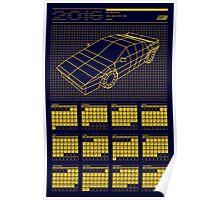 Cathode Ray 2016 Calendar Poster