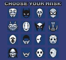 Choose Your Mask (Blue) by SamuriFerret