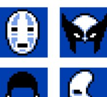 Choose Your Mask (Blue) Sticker