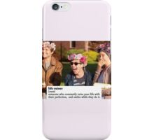 TFIOS ruined my life iPhone Case/Skin