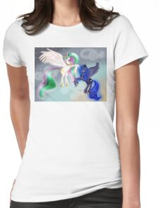 Canterlot Princesses Womens Fitted T-Shirt