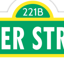 Can you tell me how to get to Baker Street? Sticker