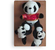 Panda Cirque Du Soleil Canvas Print