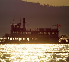Paddlesteamer by Nordic-Photo