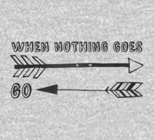 When Nothing Goes Right, Go Left Baby Tee