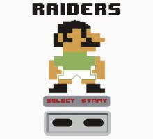 Rugby League - Raiders 8-bit by markp1979