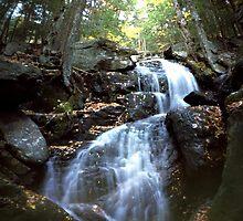 Abbey Falls, East Middlebury, VT by HagstarStudios