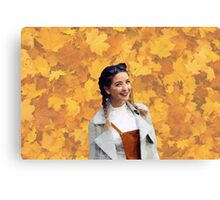 Zoella Fall Canvas Print