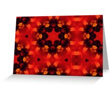 Kaleidoscopic Garden 21 Greeting Card