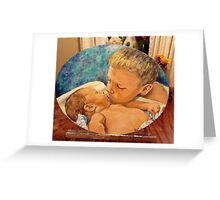 Brotherly Love Greeting Card
