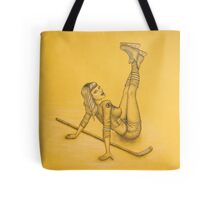 Boston Bruins Hockey Pin-Up Tote Bag