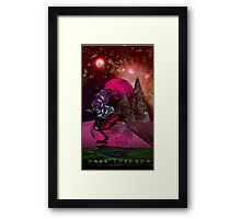 "IBLISS ""Ibis of the astral planes"" Framed Print"
