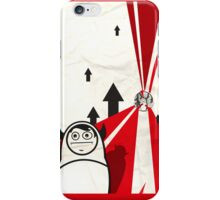 Off to work iPhone Case/Skin