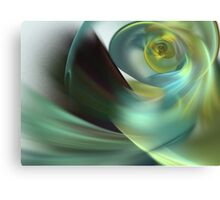 Beach Spiral Canvas Print