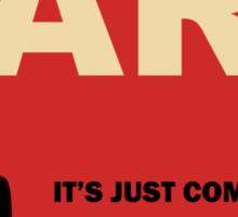 Commie Art Sticker