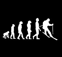 Skiing Evolution by kwg2200