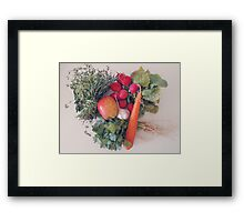 At the Kitchen Framed Print