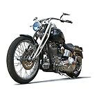 2003 H.D. Softail Custom 6 by DaveKoontz