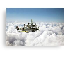 Polish Fighter Squadron Canvas Print