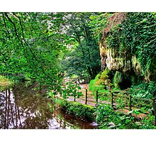 Mother Shiptons Dropping Well - Knaresborough  Photographic Print
