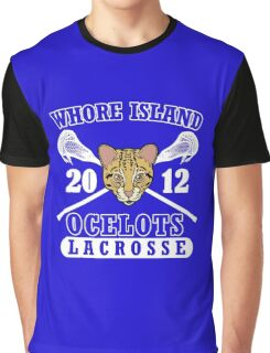 Go Ocelots! (White Fill) Graphic T-Shirt