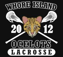 Go Ocelots! (White Fill) by Beefcake109