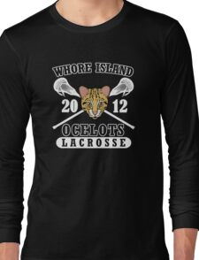Go Ocelots! (White Fill) Long Sleeve T-Shirt