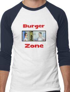Burger Zone Men's Baseball ¾ T-Shirt