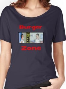 Burger Zone Women's Relaxed Fit T-Shirt