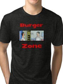Burger Zone Tri-blend T-Shirt