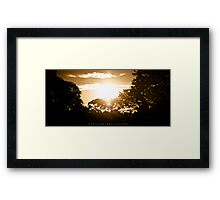 Friday, eleventh of april  Framed Print