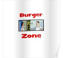 Burger Zone Poster