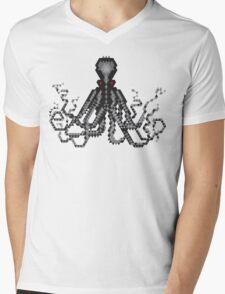 Inky Octopus  Mens V-Neck T-Shirt