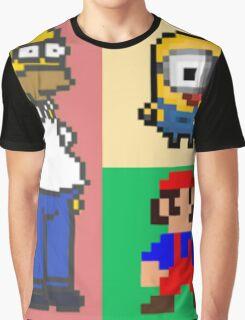 Iconic Cartoons! Graphic T-Shirt
