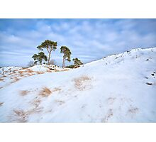 Winter in the hills Photographic Print