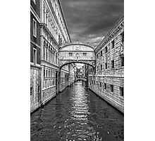 artistic view of Venice,Italy Photographic Print